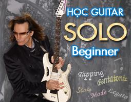 Học guitar solo cho người mới bắt đầu từ triad