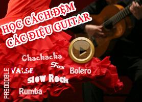 Học cách đệm các điệu guitar cơ bản