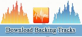Download Backing Tracks và luyện tập