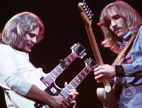 cap doi huyen thoai Don Felder and Joe Walsh