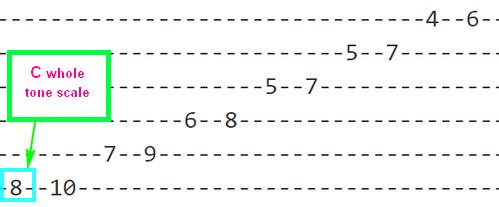 2 note whole tone