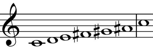 C whole tone