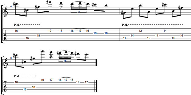 Cách rãi hợp âm Triads tạo giai điệu đẹp khi solo