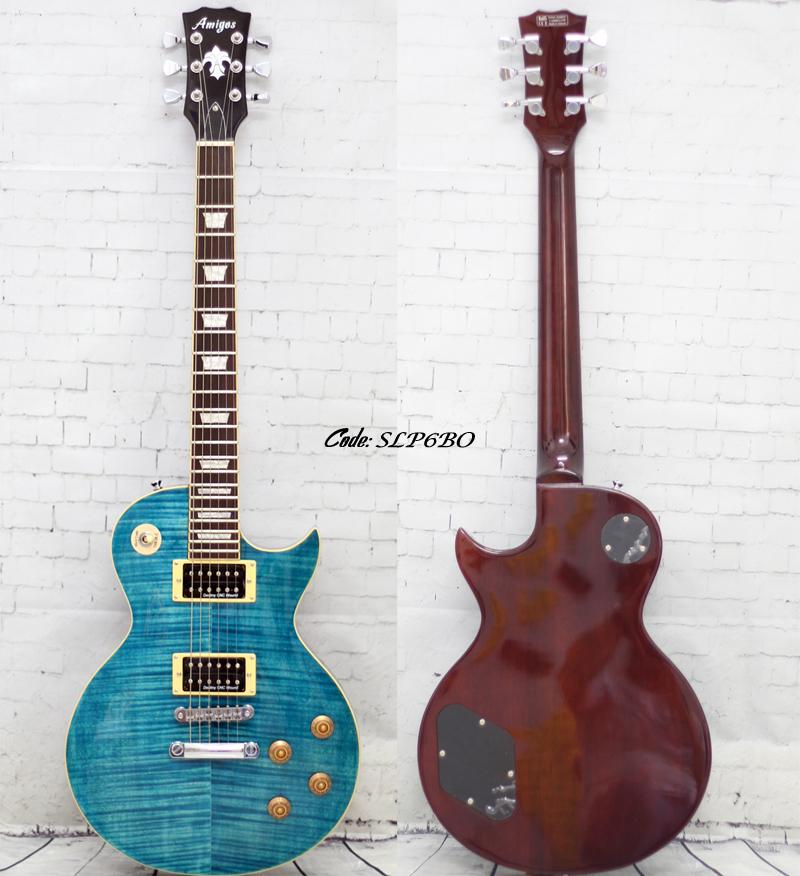 Đàn guitar điện Amigos dáng LesPaul sản xuất tại VN - Học