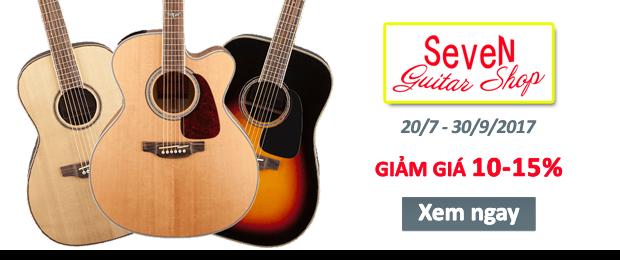 Khai trương SeveN Guitar Shop - giá Rẻ mà Chất lượng