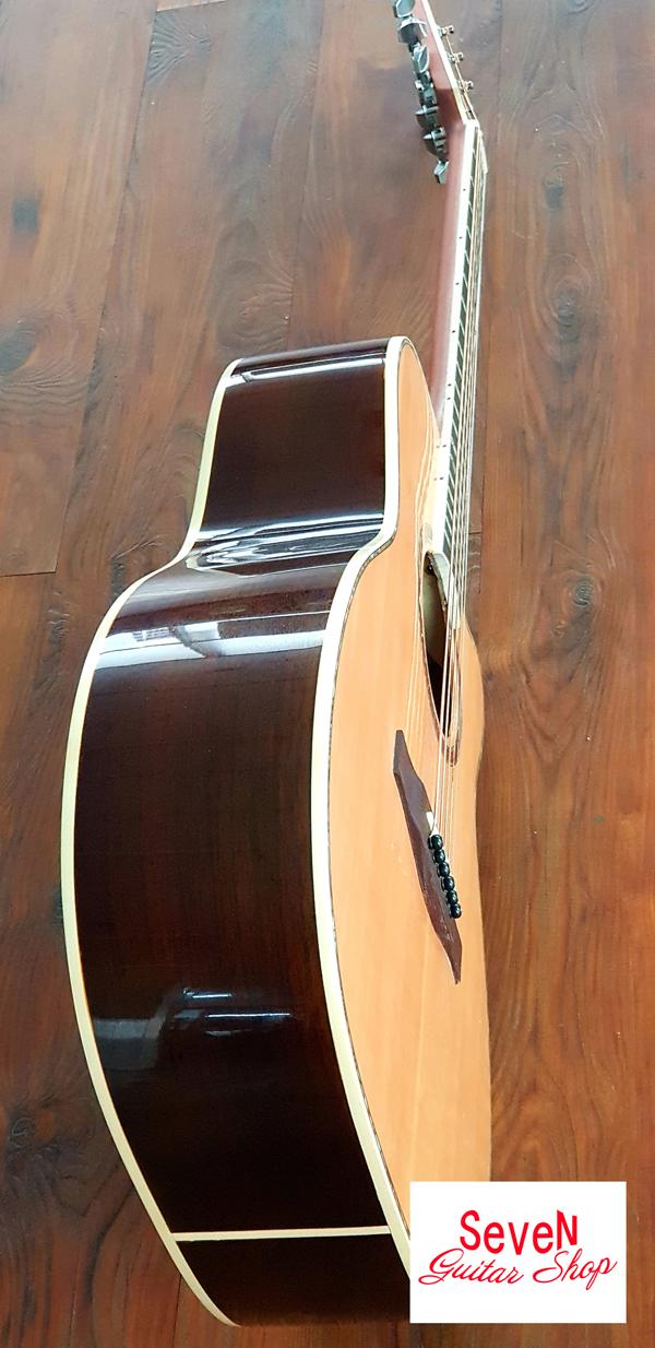 Đàn guitar gỗ Cẩm Ấn tuyệt đẹp - ADR60 thương hiệu Seven - 1