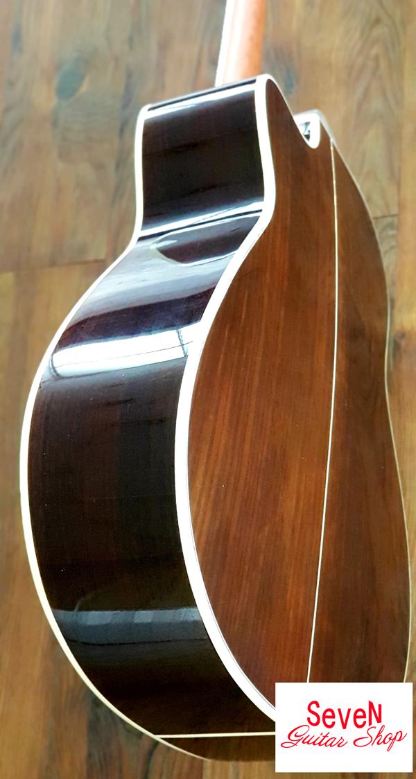 Đàn guitar gỗ Cẩm Ấn tuyệt đẹp - ADR60 thương hiệu Seven