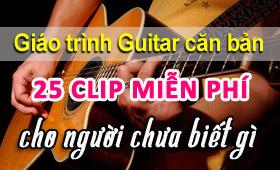Học guitar đệm hát cho người mới bắt đầu