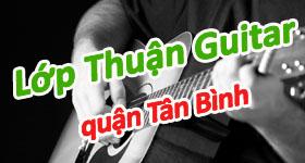 Lớp học đàn guitar cơ bản tại quận Tân Bình TPHCM